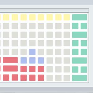 Программируемая клавиатура POSua LPOS-096P